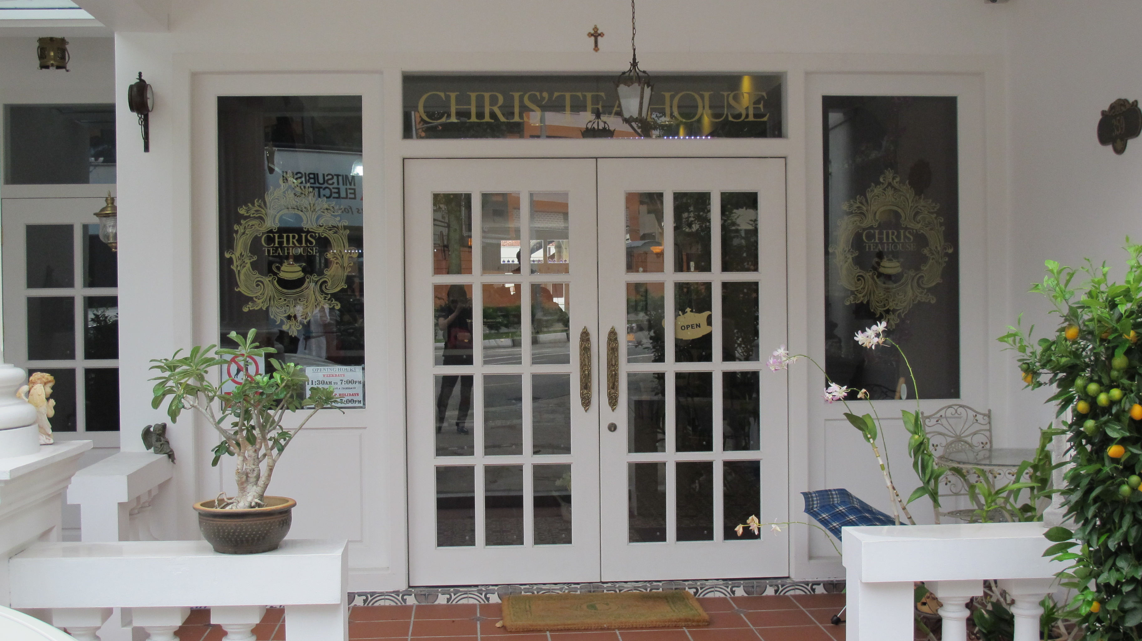 Chris' Tea House « Charlinary